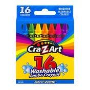Cra-Z-Art Washable Crayons Jumbo - 16 CT