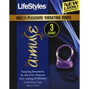 LifeStyles Vibrating Rings, Multi-Pleasure