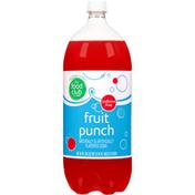 Food Club Fruit Punch Caffeine Free Soda