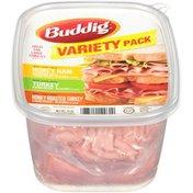 Buddig Honey Ham, Turkey & Honey Roasted Turkey Variety Pack