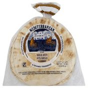 Global Bakeries Pita Bread, Mediterranean, Plain, Brick Oven, Jumbo, Bag