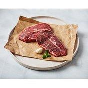 Choice Beef Chuck Top Blade Bonless Thin Steak