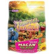 Brown's Topical Carnival Gourmet Food Big Bites for Big Beaks Macaw