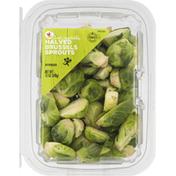SB Brussels Sprouts, Halved, Fresh Vegetables