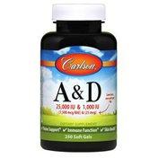 Carlson Labs Vitamins A & D 25,000 / 1,000 IU