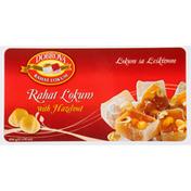 Dobrova Rahat Lokum, with Hazelnut
