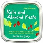 Macro Veg Kale Pesto Sprouted Hummus