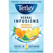 Tetley Mango & Turmeric Herbal Infusions