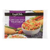Food Club Freshly Frozen Cape Cod Style Vegetables With Carrots, Corn & Lima Beans
