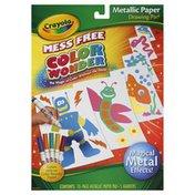 Crayola Drawing Pad, Metallic Paper