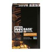 PROBAR Base 15g Protein Bar Peanut Butter Chocolate - 12 CT