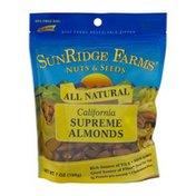 SunRidge Farms Nuts & Seeds All Natural California Supreme Almonds