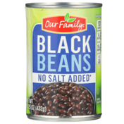 Our Family No Salt Added Black Beans