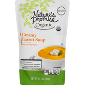 Nature's Promise Soup, Organic, Creamy Carrot