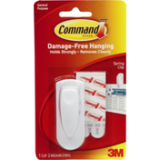 3M Command Damage-Free Hanging Spring Clip