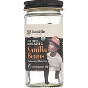 Rodelle Vanilla Beans, Organic, Madagascar Bourbon