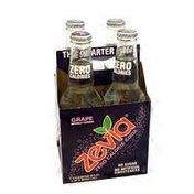 Zevia Grape Soda Glass Bottle