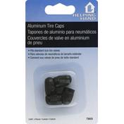 Helping Hand Tire Caps, Aluminum