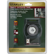 Stanley Mechanical Timer, Time it, Outdoor Twin