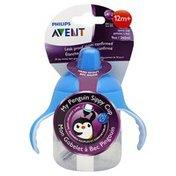 Avent Spout Cup, My Penguin Sippy Cup, Hard Spout, 12 Months +, 9 Ounce
