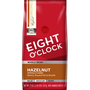Eight O'Clock Coffee Hazelnut Whole Bean Coffee