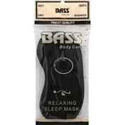 Bass Brushes Sleep Mask, Relaxing