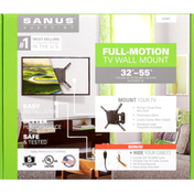 Sanus Vuepoint Wall Mount, TV, Full-Motion, 32 Inches-55 Inches