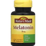 Nature Made Melatonin, 3 mg, Tablets