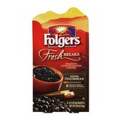 Folgers Fresh Breaks 100% Colombian Coffee Instant Packets - 8 CT