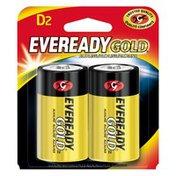 EVEREADY Alkaline D Batteries, D Cell Batteries