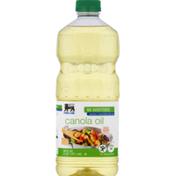 Food Lion Canola Oil, No Additives, Bottle
