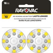 Rayovac Size 10 Batteries, Size 10 Batteries
