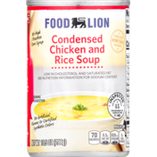Food Lion Soup, Chicken and Rice, Condensed