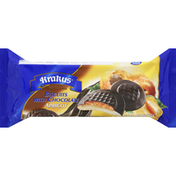 Krakus Biscuits, with Chocolate, Apricot