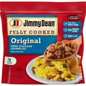 Jimmy Dean Fully Cooked Original Breakfast Sausage Crumbles