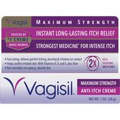 Vagisil Anti-Itch Creme, Maximum Strength