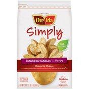 Ore-Ida Simply Roasted Garlic & Herbs Homestyle Wedges