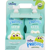 Lifeway Organic Kefir Sublime Lime Cultured Whole Milk