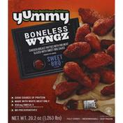 Yummy Chicken Breast Patties, Sweet BBQ Flavor