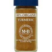 Morton & Bassett Spices Turmeric, 100% Organic
