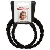 Thick Braidies Dark Brown