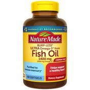 Nature Made Ultra Omega-3 Fish Oil 1400 mg Softgels