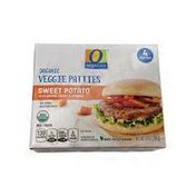 O Organics Sweet Potato & Veggie Patties