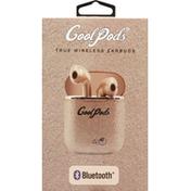 Cool Pods Earbuds, Bluetooth, True Wireless