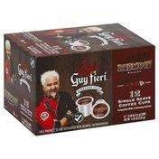 Guy Fieri Coffee, Dark Roast, Redwood Roast, Single Serve Cups
