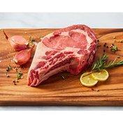 Double R Ranch USDA Bone In Prime Rib Ribeye Steak