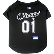 Doggie Nation XSmall Chicago White Mesh Sox Dog Jersey