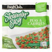 Food Club Steamin' Easy, Peas & Carrots