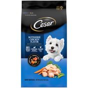 CESAR Rotisserie Chicken Flavor and Spring Vegetables Garnish Dog Food