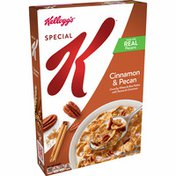 Kellogg's Special K Breakfast Cereal, 11 Vitamins and Minerals, Made with Real Pecans, Cinnamon and Pecan